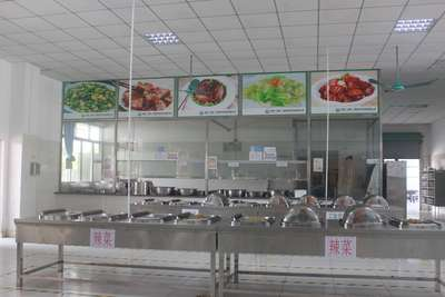 Free Buffet Canteen for Employee 免费员工自助餐